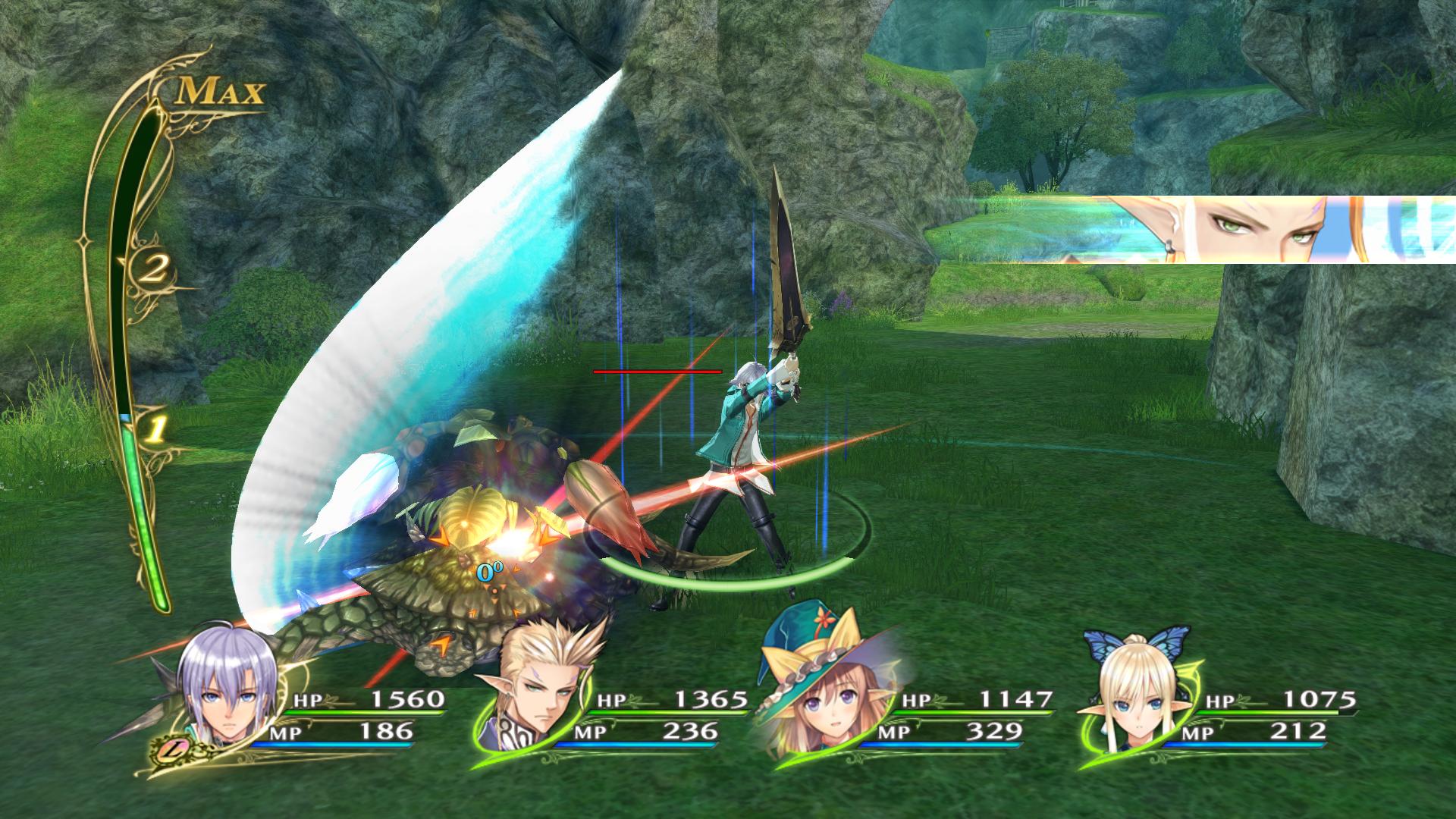 Shining Resonance Refrain - battle