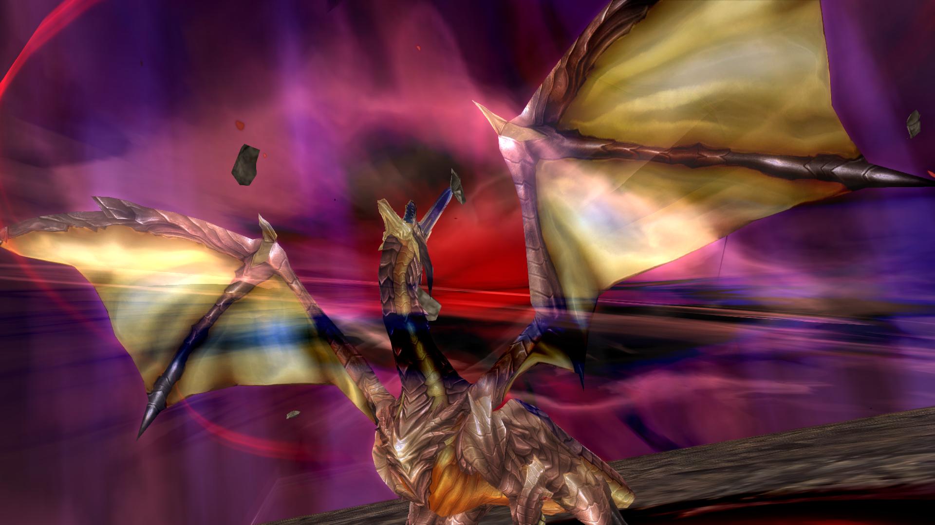 Shining Resonance Refrain - dragon